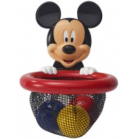 Mickey Mouse Shoot & Store Basketball Bath Toy