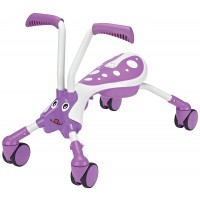 Scramble Bug Toddler 4 Wheel Folding Ride-On Bike - Bubblegum
