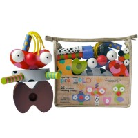 PreZolo Creative Building Kit for Preschool Kids