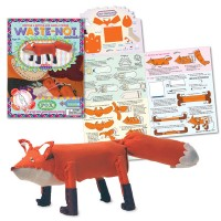 Make a Fox Toy Animal Craft Kit