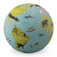 World Map 7 inch Play Ball for Kids