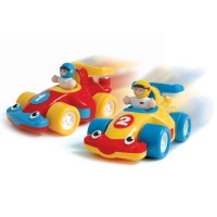 The Turbo Twins 2 Race Cars Play Set