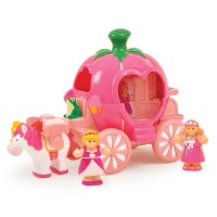 Princess Carriage 4 pc Toddler Playset