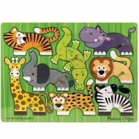 Zoo Mix n Match Wooden Puzzle