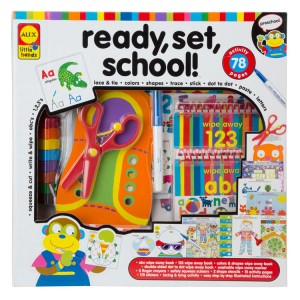 Ready, Set, School! - Learning Activity Toy