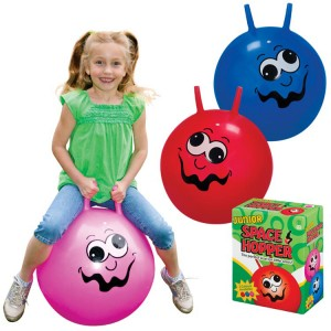 Kids Funny Face Hopping Ball