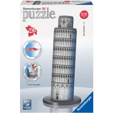 Leaning Tower of Pisa 216 pc 3D Puzzle