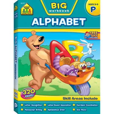 Big Alphabet 320 Pages Activity Workbook