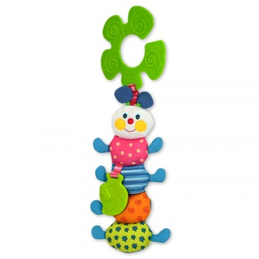 Funky Inchworm Stroller Pal Baby Toy