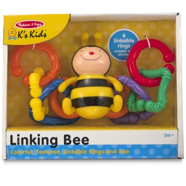 Linking Bee Baby Teether