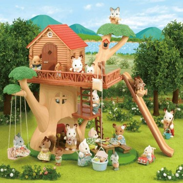 Calico Critters Adventure Tree House Playset