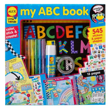 My ABC Book Early Reading Craft Kit