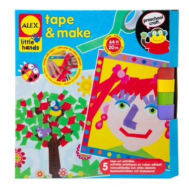 Tape & Make Color with Tape Craft Kit