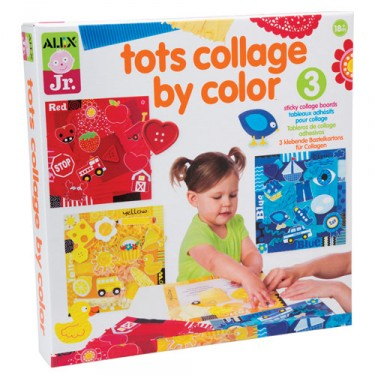 Tots Collage by Color Toddler Craft Kit