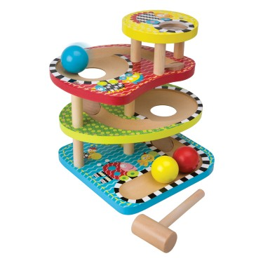 Bop & Roll Toddler Motor Skills Activity Center