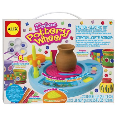 Deluxe Pottery Wheel Pottery Making Activity Kit