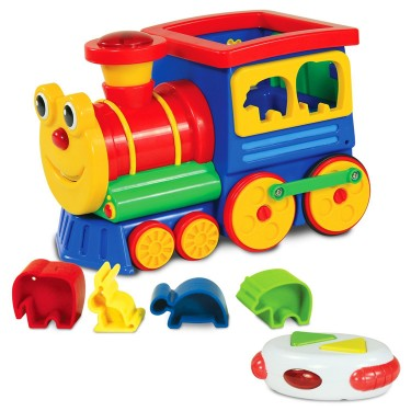 Animal Express RC Train Shape Sorting Electronic Toy