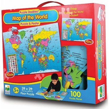 Map of the World - Poster and Puzzle