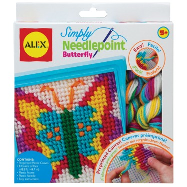Simply Needlepoint Butterfly Craft Kit