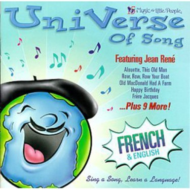 UniVerse of Song Learn French Sing Along Children CD