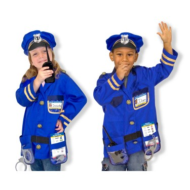 Police Chief Costume Role Play Set
