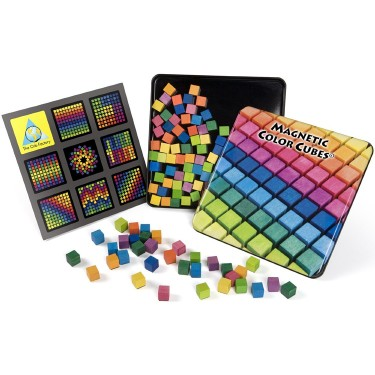 Magnetic Color Cubes Travel Toy