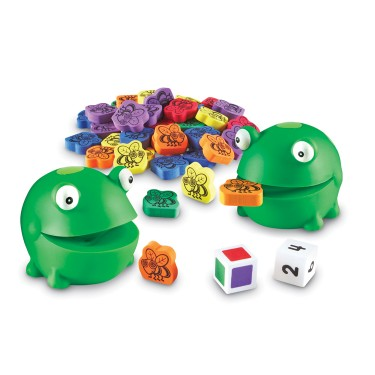 Froggy Feeding Fun Preschool Game