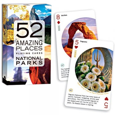 52 Amazing Places: National Parks Card Game