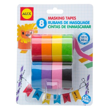 8 Colors Masking Tapes Craft Set