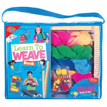 Learn to Weave Craft Set & Book