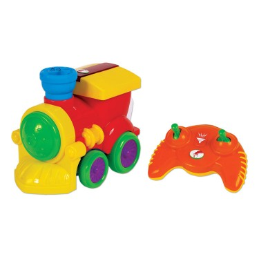 RC Steam Train Toddler Lights & Sounds Toy
