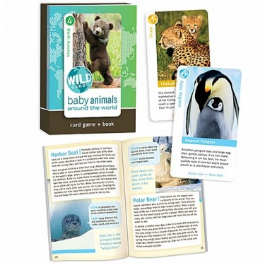 Baby Animals Card Game & Book