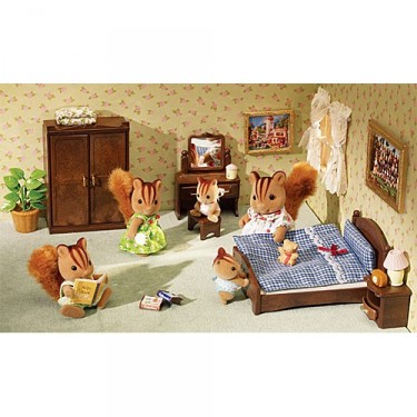 Calico Critters Master Bedroom Set