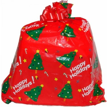 Christmas gift wrap entire order with all items together
