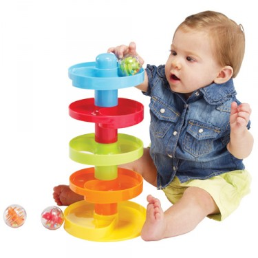 Busy Ball Drop Baby Activity Toy