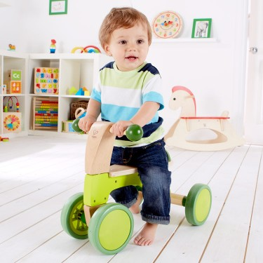 Scoot Around Toddler Push Ride-on Toy with 4 Wheels