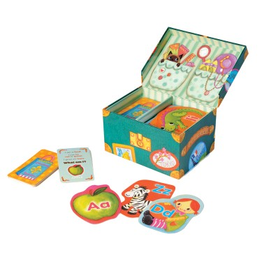 Grandma's Trunk Alphabet Educational Game