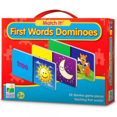 First Words Dominoes - Match It! Learning Game