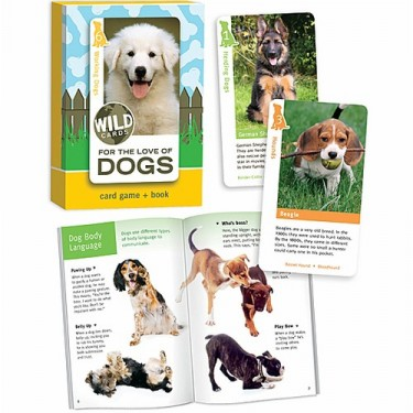 Dogs Card Game & Book