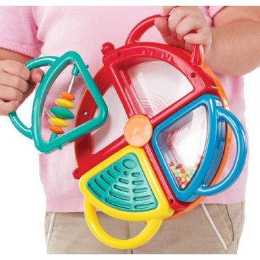 4 in 1 Drum Set Musical Toy
