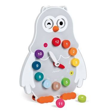 Owly Clock Time Learning Double Sided Toy