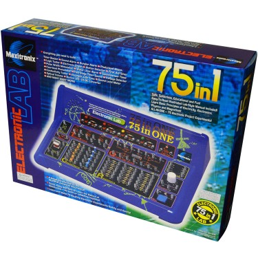 Electronic Project Lab 75 in 1 Science Kit