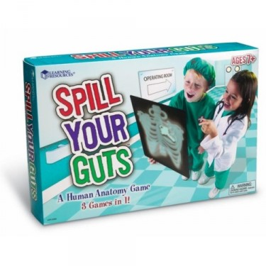 Spill Your Guts Human Body Learning Game