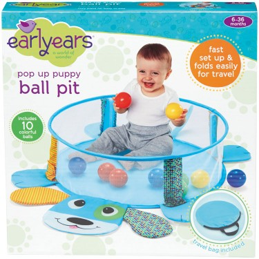 Pop-up Puppy Baby Ball Pit