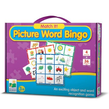 Match It! - Picture Word Bingo Matching Game