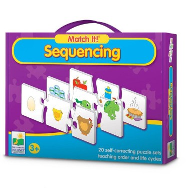 Match It! Sequencing Educational Puzzle
