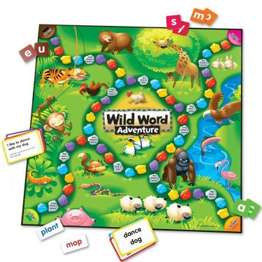 Wild Word Adventure Early Learning Language Game