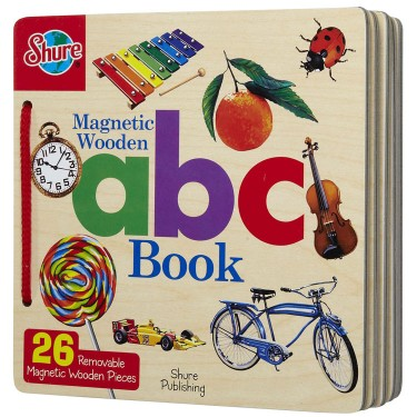 Magnetic Wooden ABC Puzzle Book
