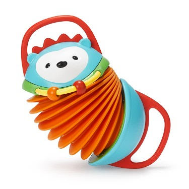 Explore & More Hedgehog Accordion Baby Toy