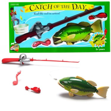 Catch Of The Day Toy Fishing Rod